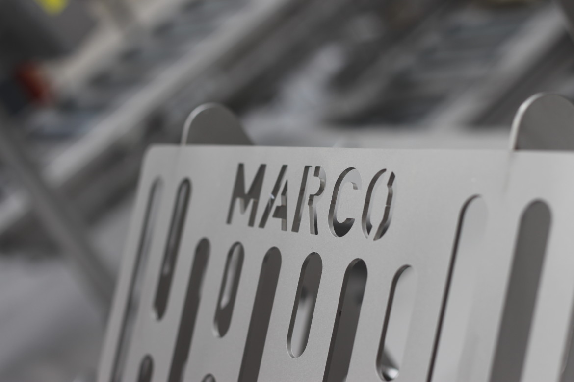 MARCO metal sign