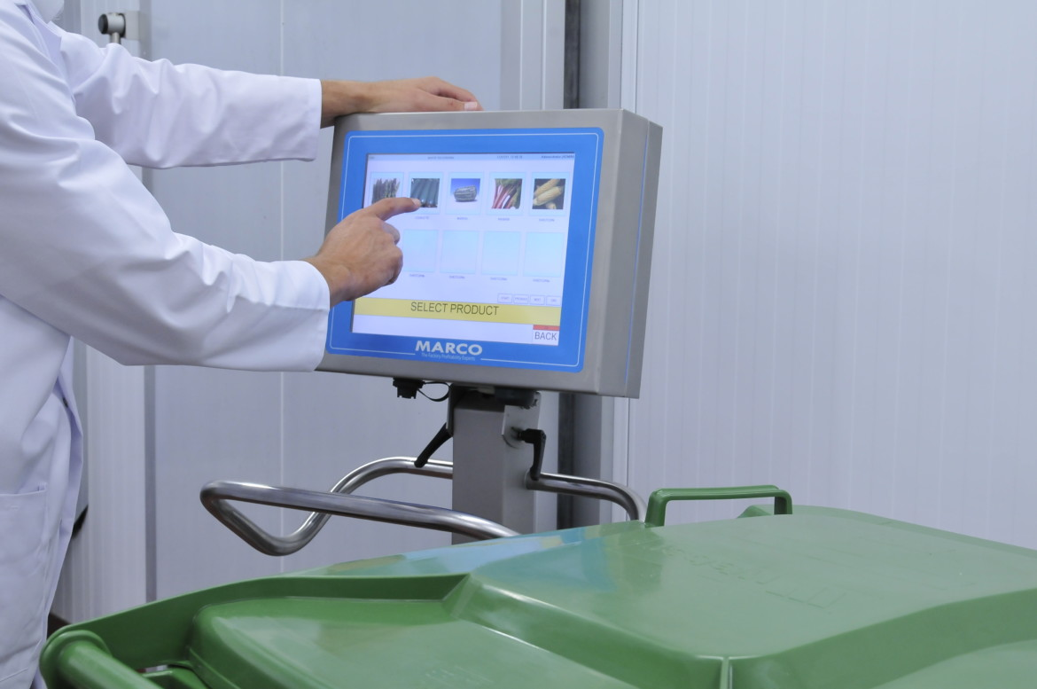 Waste Management Module WMM touch screen