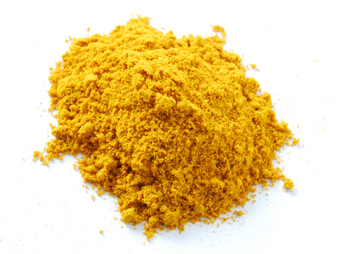 yellow powder ingredients industry